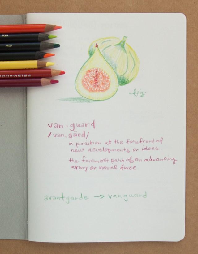 Baron Fig Vanguard Colored Pencil test