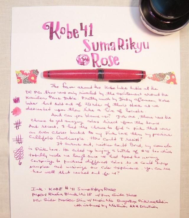Kobe 41 Suma Rikyu Rose