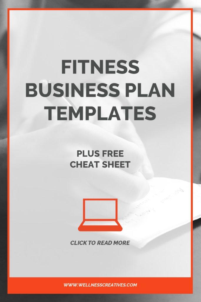 Gym Business Plan Templates Plus Free Cheat Sheet PDF - business plan templates
