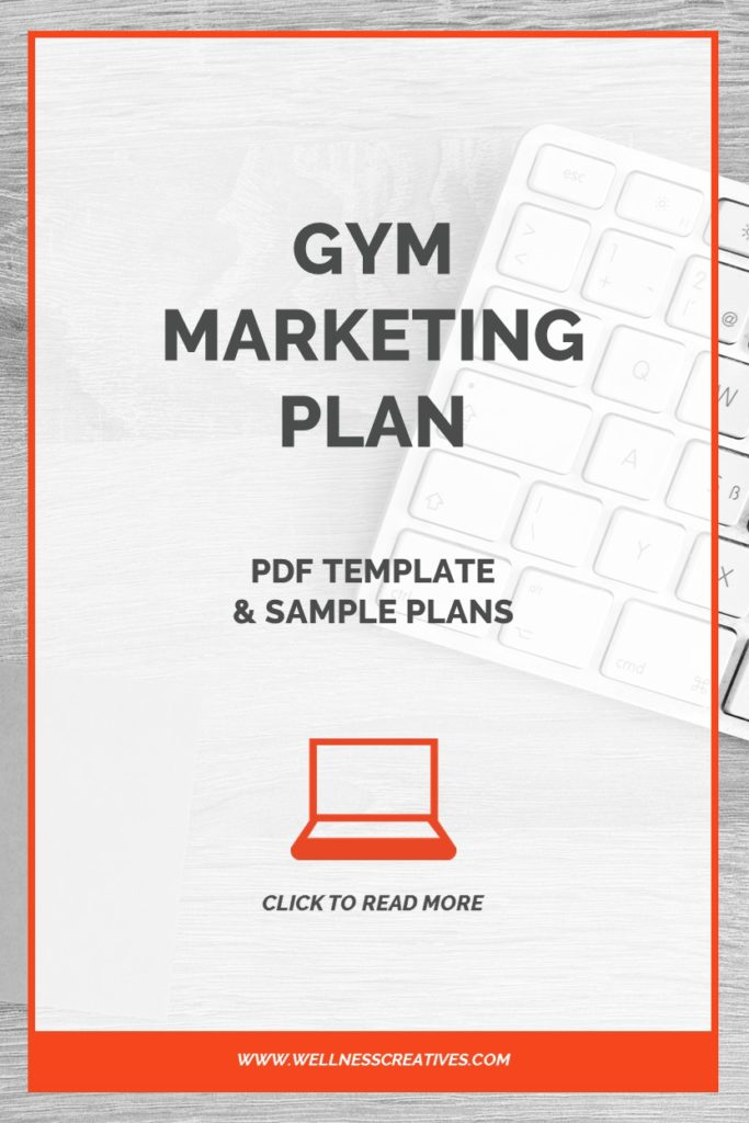 Gym Marketing Plan PDF Template + Sample Plans - marketing plan pdf