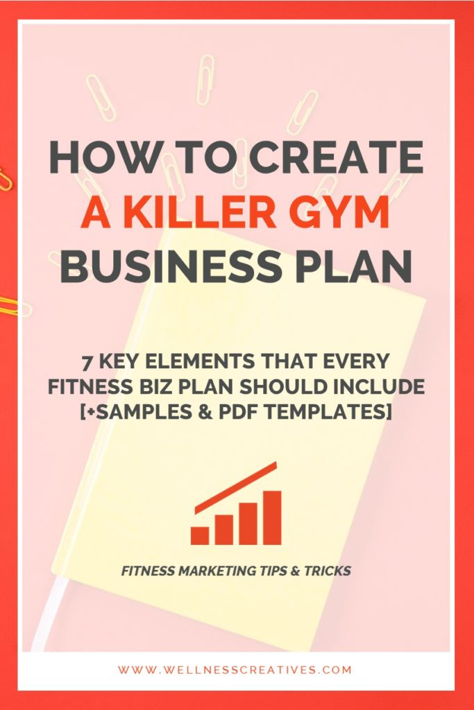 Gym Business Plan Essentials + Fitness Center Template  Sample PDF