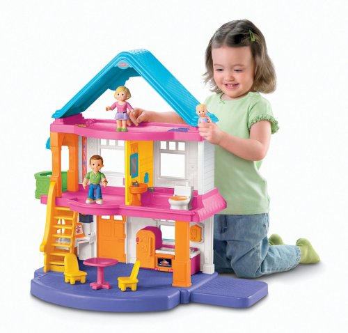 Medium Of Fisher Price Dollhouse