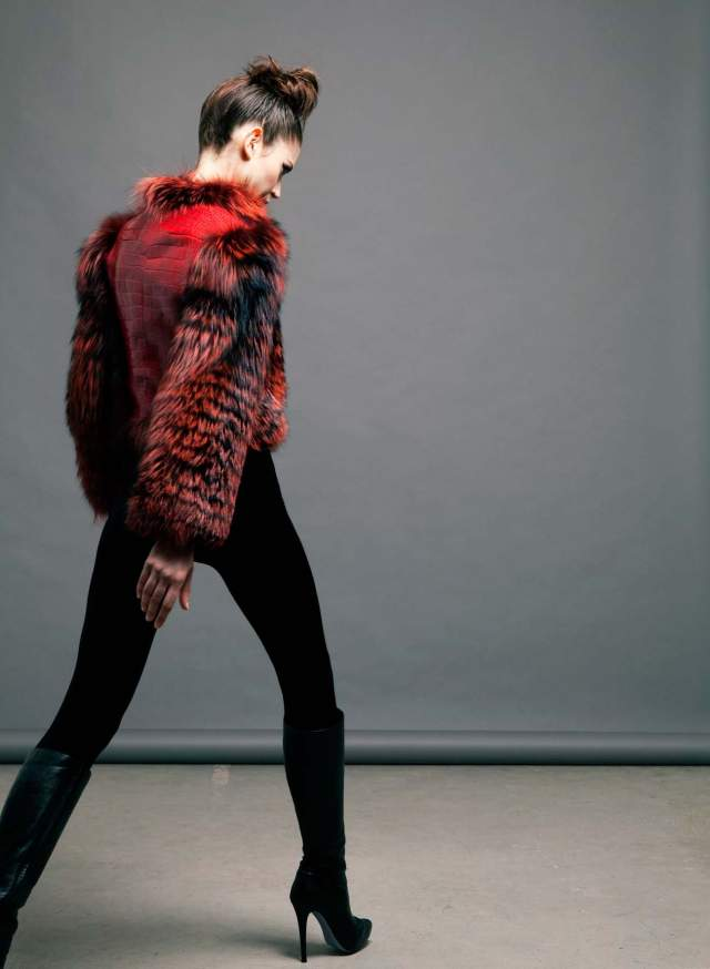 python,fox,red,fur coat,vladimiro gioia 