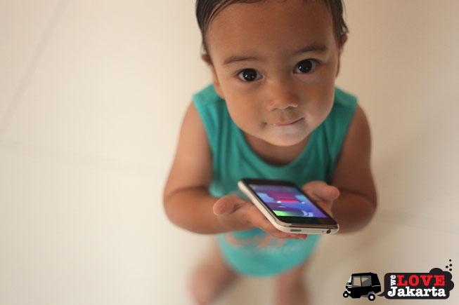 tasha may_we love jakarta_welovejakarta_talking carl app_kids in Jakarta