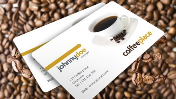 Awesome Coffee Business Card Template - WeLoveSoLo