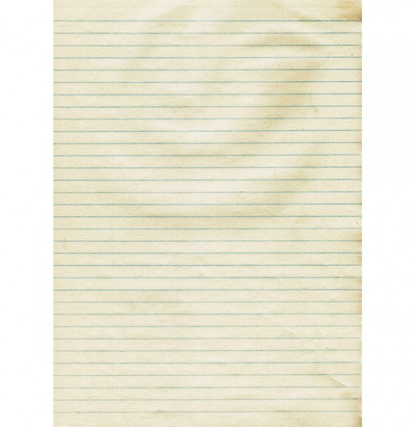 Authentic Lined Paper Background - WeLoveSoLo
