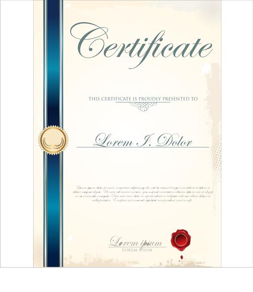 Certificate Designs Free. Certificate Design Templates Free Vector