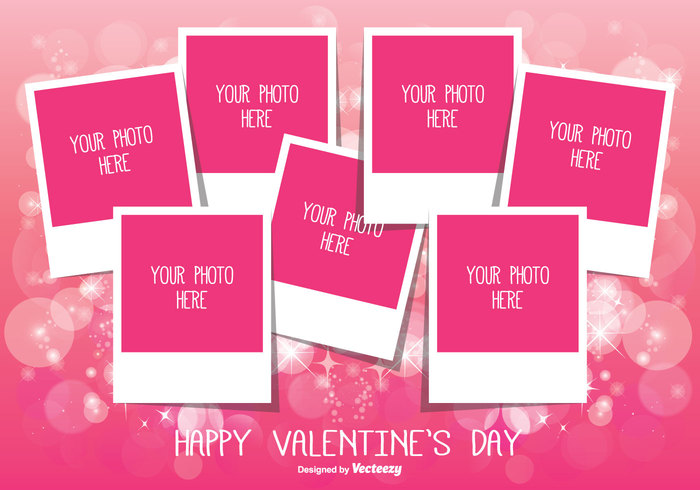 Valentine\u0027s Day Photo Collage Template 148796 - WeLoveSoLo - postcard collage template