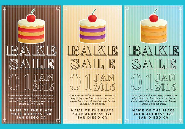 Bake Sale Flyers - WeLoveSoLo