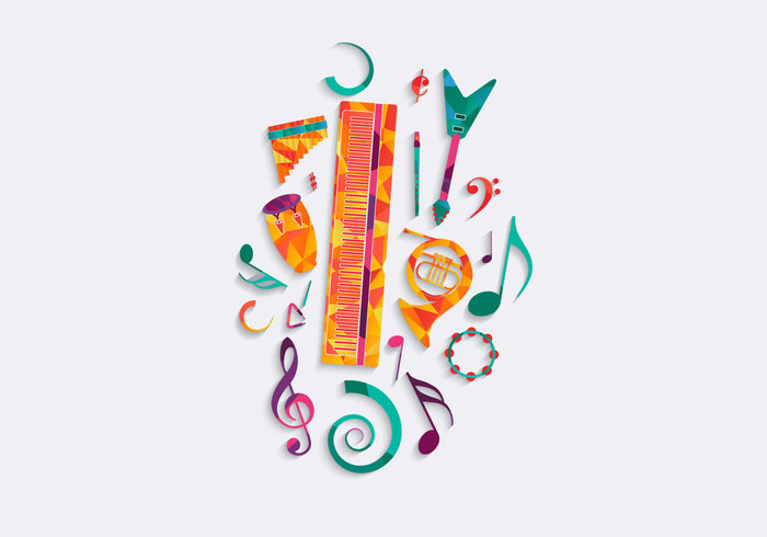 Free Music Background Vector 135489 - WeLoveSoLo