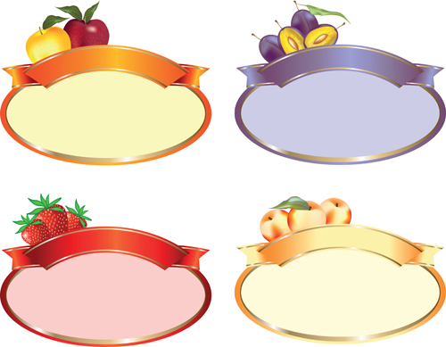 Set of products Labels templates vector 05 - WeLoveSoLo