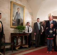 Leute: Trump begrt berraschend Schler bei Tour durchs ...