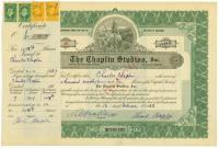 Deutscher Kufer: Chaplin-Aktie fr 26.000 Euro ...