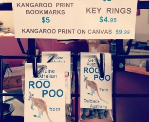 Känguru Roo Poo aus Australien von Susi.