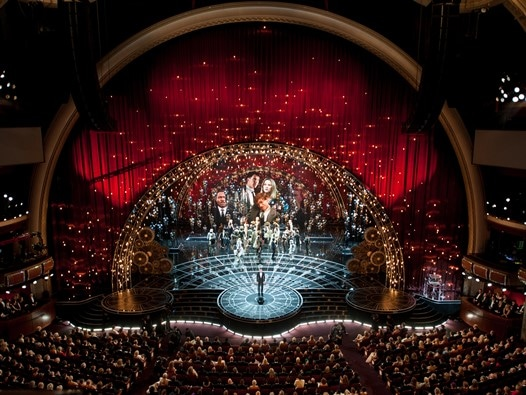Oscars® Host Neil Patrick Harris onstage during the live ABC Telecast of The 87th Oscars® at the Dolby® Theatre in Hollywood, CA on Sunday, February 22, 2015. keywords: 87th Academy Awards, Oscars, Telecast credit: Valerie Durant / ©A.M.P.A.S.