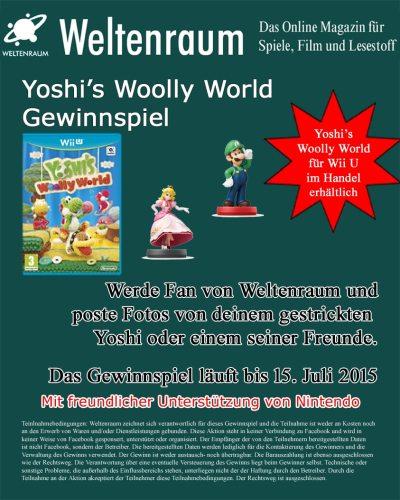 Gewinnspiel Nintendo - Yoshi's Woolly World