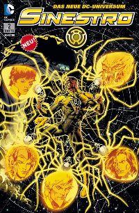 Sinextro #2 Comic Cover - Sinestro #2: Im Netz der Angst, Rechte bei Panini Comics