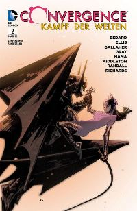 Comic Cover - Convergence Sonderband #2, Rechte bei Panini Comics