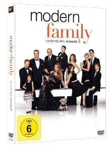 DVD Cover - Modern Family – Season 5, Rechte bei Twentieth Century Fox Home Entertainment