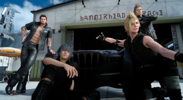 Final Fantasy XV - das Team