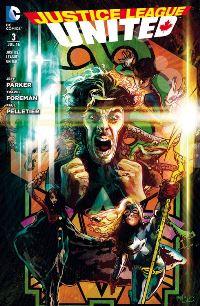 Comic Cover - Justice League United #3: Ewiger Krieg, Rechte bei Panini Comis