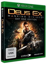 Xbox One Cover - Deus Ex: Mankind Divided, Rechte bei Square Enix