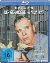 Blu-ray Cover - Der Gefangene von Alcatraz, Rechte bei Concorde Home Entertainment