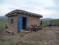 die Hütte auf dem Berge