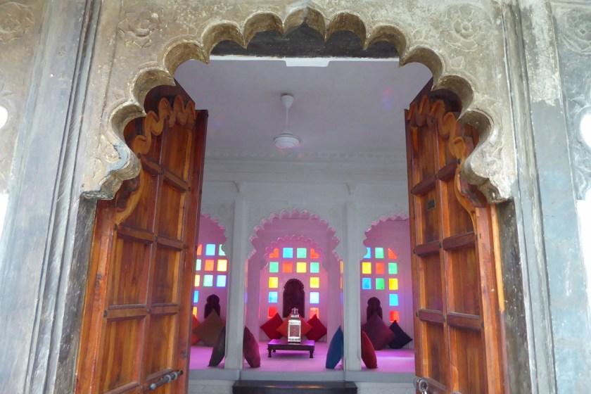 Udaipur_Haveli_Tuer