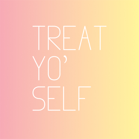 Inexpensive ways to Treat Yo' Self  wemadeithome.com