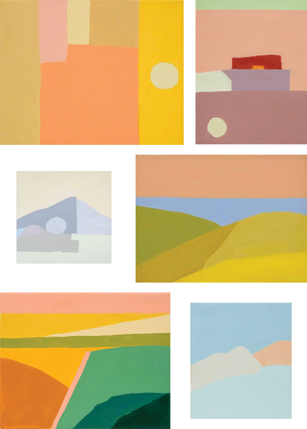 Inspired By Etel Adnan | wemadeithome.com