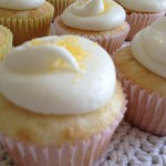 Lemon Coconut cupcakes for the teachers