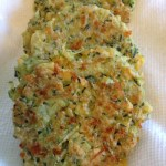 Zucchini Cheddar Fritters