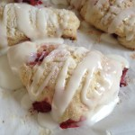 Fresh Strawberry Scones