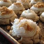 Coconut Cream Pie Sugar Cookies
