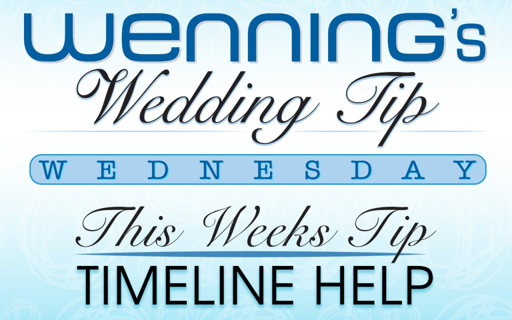 Proper Wedding Timeline Management for Receptions - wedding timeline