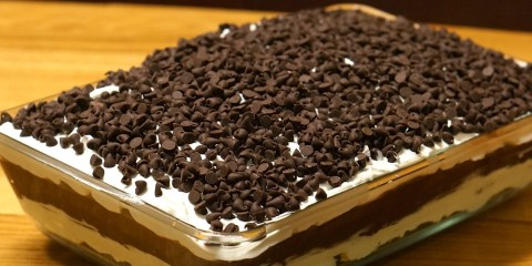 chocolate lasagna cover