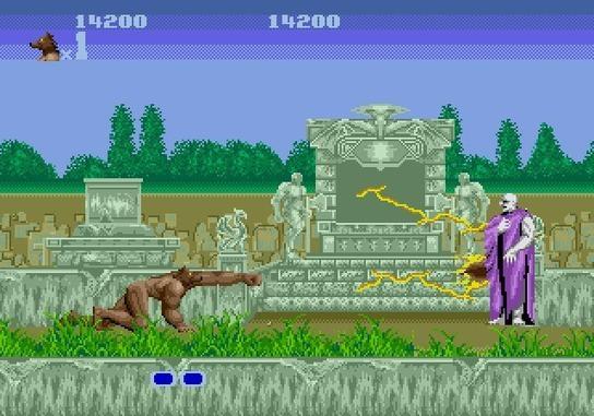 Altered Beast Game Over Sega Arcade Game 'altered