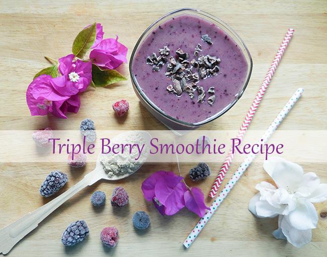 triple-berry-smoothie-recipe
