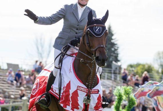 CANADIAN OLYMPIAN BETH UNDERHILL WINS $100,000 CSI2* CLASSIC AT OTTAWA INTERNATIONAL HORSE SHOW