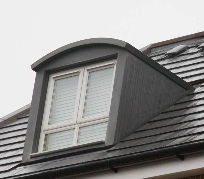 45 Curved Roof Dormer