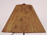 """Rodeo Cowboy Icon Iron Table Lamp & Shade 31"""""""