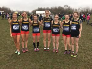 Katie Clarke with Cheshire Under 20 womens team
