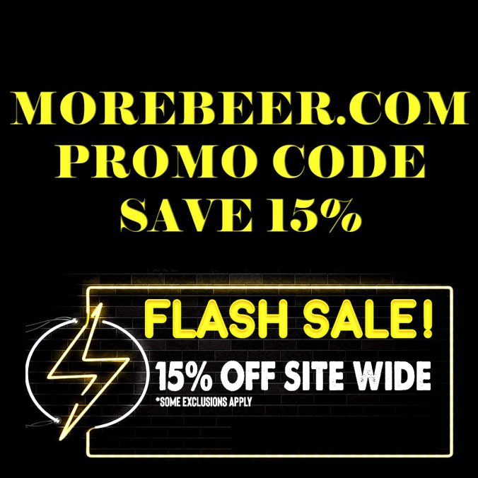 MoreBeer.com Flash Sale促销代码- Save 15%