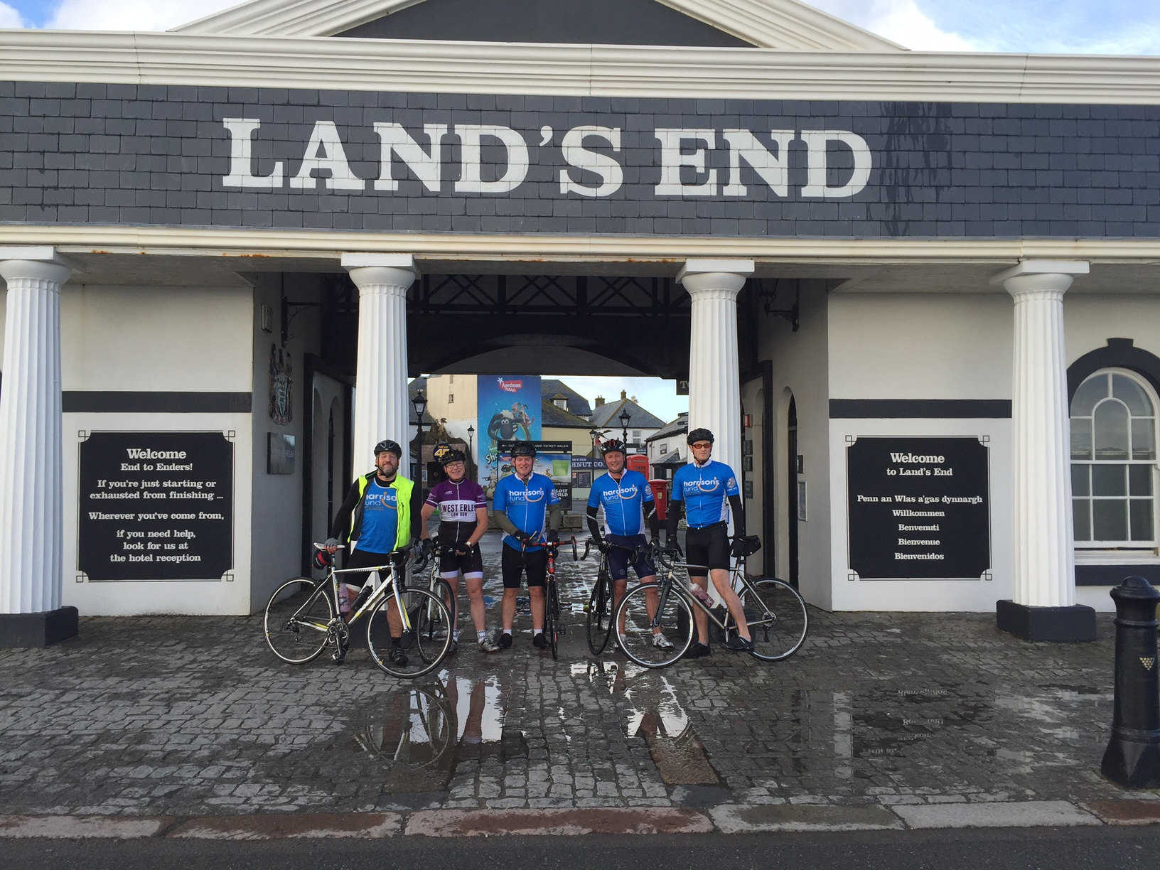Lands End to London for Charity