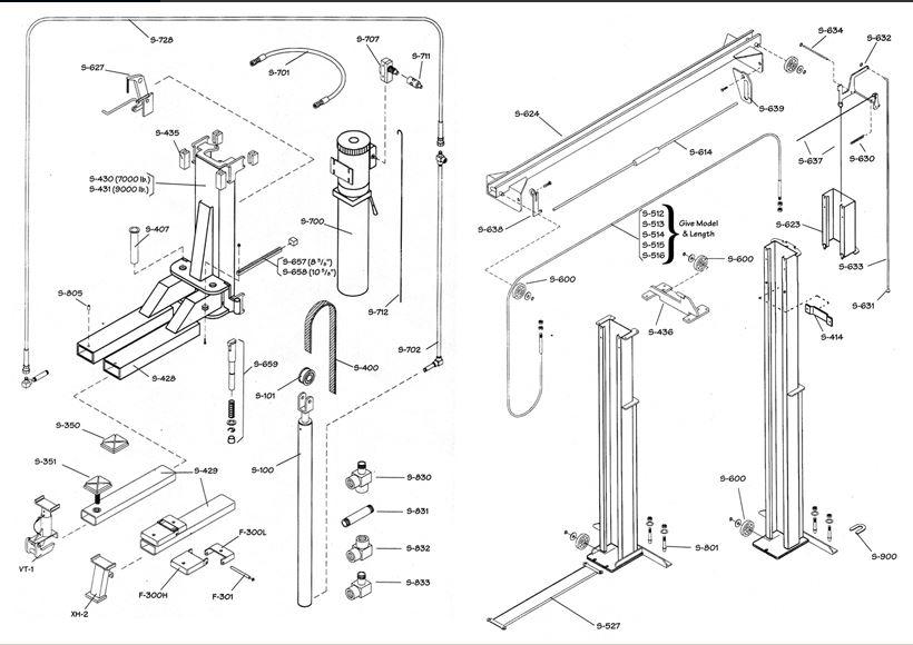 WL Model Lifts - Western Lift Western Hoist