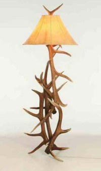 Elk Antler Floor Lamp - Free Shipping!