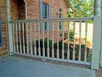 Cedar Wood Deck Railing System for robust traditional