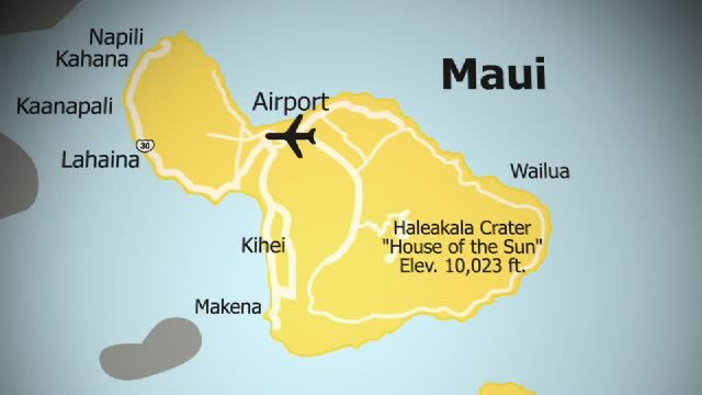 Kahului, Maui, Hawaiian Islands, United States  Hawaii WestJet