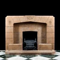 Art Nouveau & Art Deco Fireplaces